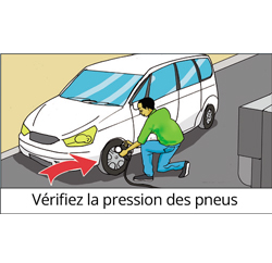 Verifier pression pneu les autoroutesdusenegal
